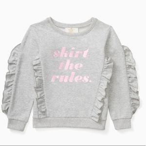 💘 Kate Spade Toddler Ruffle Sweater